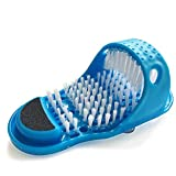Magic Feet Cleaner,Kissbuty Foot Scrubber Feet Shower Spa Exfoliating Foot Massager Slipper Easy Cleaning Brush (Color: Foot Scrubber)