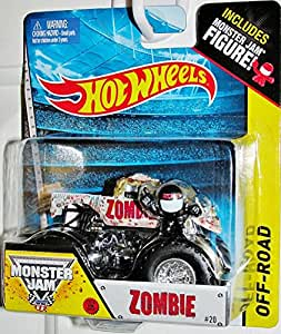 zombie new truck 2014 hot wheels monster jam 1 64 scale off road truck 20 toys games. Black Bedroom Furniture Sets. Home Design Ideas