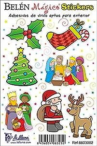 Detalles Infantiles - Adhesivos de vinilo de navidad de La Lluna en BebeHogar.com