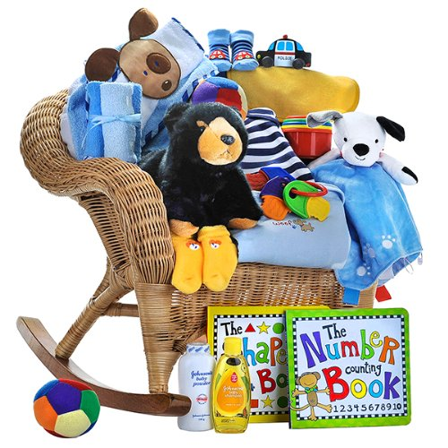 Johnson And Johnson Baby Gift Basket