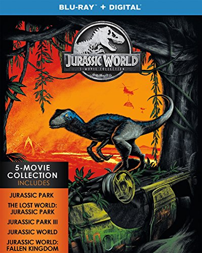 Blu-ray : Jurassic World: 5-movie Collection (Boxed Set, Collector's Edition, Digital Copy, 5PC)
