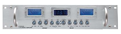 Audiobahn A100X4Q, 4-Canaux Class A/B Mosfet Power Amplificateur avec Commande Sub