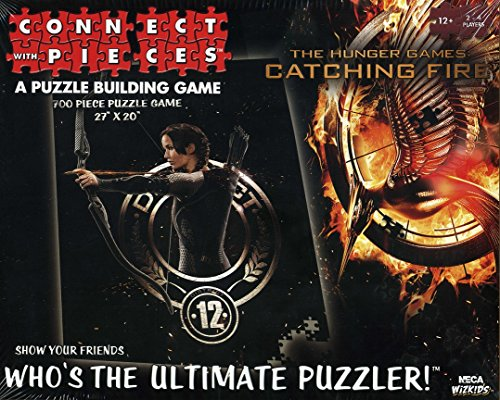 Connect with Pieces - Puzzle Building Game - Hunger Games: Catching Fire - 700 Pc