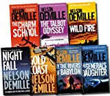 Nelson Demille Nelson Demille Collection 7 Books Set Pack RRP £ 55.93 (The Rivers of Babylon, The Generals Daughter, Night Fall, The Charm School, The Talbot Odyssey, Gold Coast, Wild Fire) (Nelson Demille Collection)