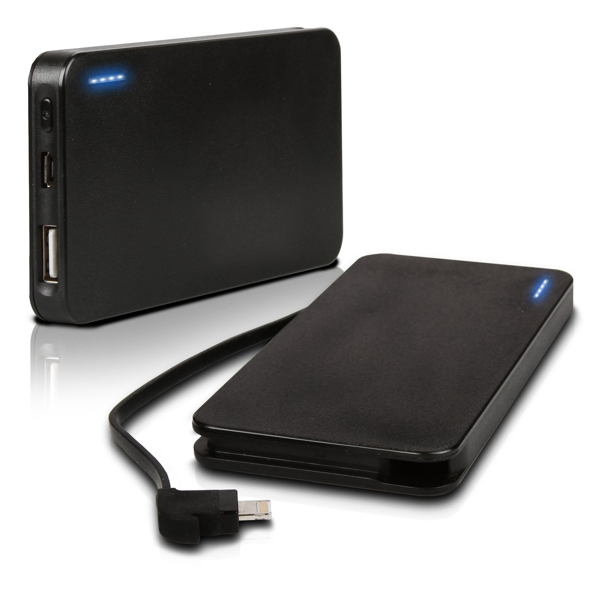 Photive iPhone 5 Rechargeable 3000 Mah Portable Battery Charger with Built in Lightning Cable. $19.95
