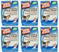 Simple Solution Washable Male Wrap Medium 6pk