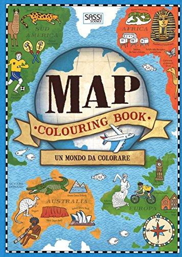 Map colouring book. Un mondo da colorare