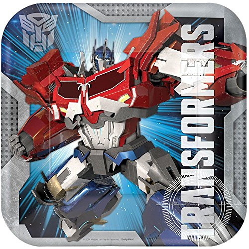 Transformers Dinner Plates (8) - 1