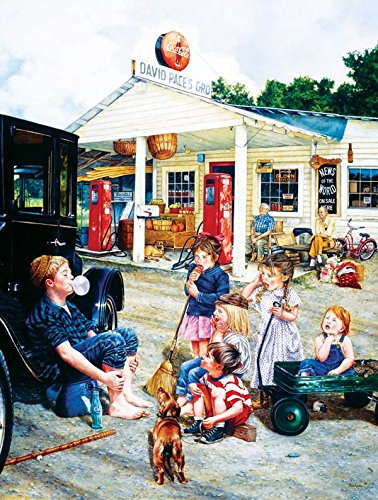 Saturday at the General Store a 300-Piece Jigsaw Puzzle by Sunsout Inc.