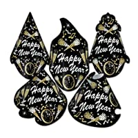 Beistle 88801-50 50-Piece New Year Tymes Hat Assortment