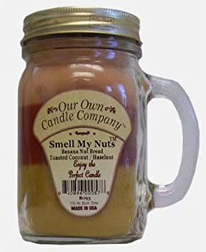 Smell My Nuts Mason Jar Candle Our Own