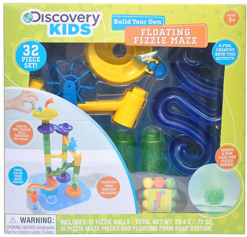 Discovery Kids Build Your Own Floating Fizzie Maze