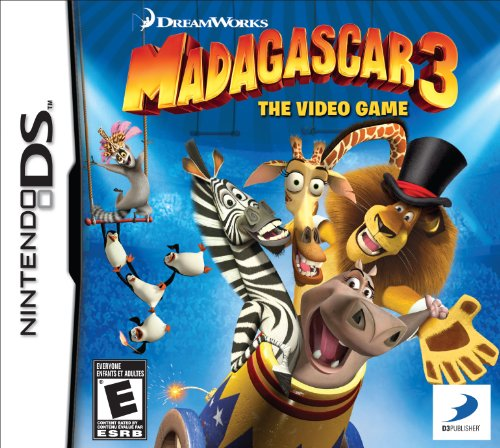 Madagascar 3: The Video Game - Nintendo DS - 1