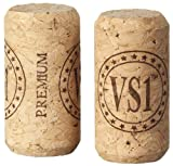 Premium VS1 Agglomerated Corks # 9 Long, 1000-Count Bag