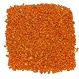 15kg Orange Color Crystel Sand For Garden Decor Plant Home Decor Backyard Patio Pathway Indoor And Outdoor Gravel Soil Stone Pebbles Chips Decoration Fish Tank Substrate
