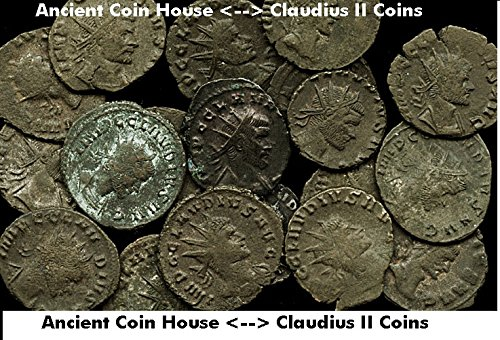 268 AD. Ancient Roman Coin Emperor CLAUDIUS II