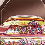 Yunr-100-cotton-Duvet-Cover-Set-colorful-boho-bohemian-style-jaipur-Print-Floral-Design-Full-Queen-Size