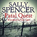 Fatal Quest: Woodend's First Case: Inspector Woodend Series, Book 20 (       UNABRIDGED) by Sally Spencer Narrated by Gareth Armstrong