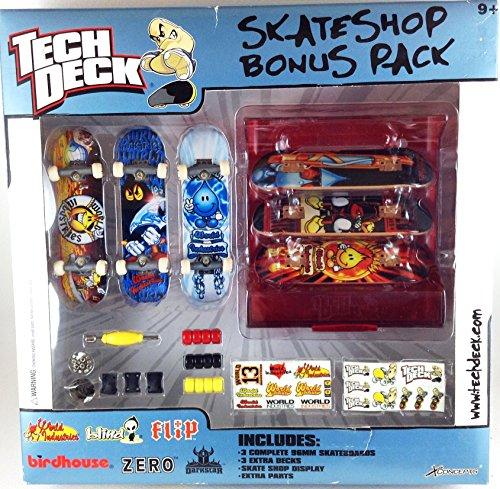 Tech Deck World Industries SK8 Shop Bonus Pack Flameboy (Tech Deck Sk8 Shop Bonus Pack compare prices)