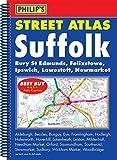 Philip's Street Atlas Suffolk: Spiral Edition