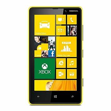 Nokia Lumia 820 (jaune) débloqué logiciel original (import Allemagne)