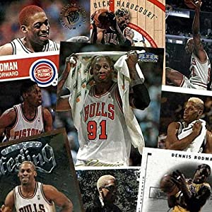 Various Brands Chicago Bulls Dennis Rodman 20 Trading Card Set by Various+Brands