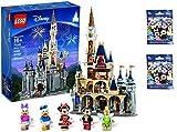 レゴ(LEGO) ディズニーシンデレラ城 Disney World Cinderella Castle 71040【国内正規品】  と レゴディズニーミニフィギュア71012  2袋のセット販売