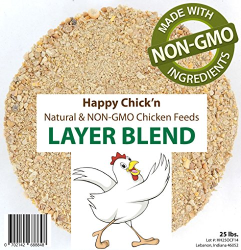Natural And Non-Gmo Poultry Layer Feed, 50 Lbs.