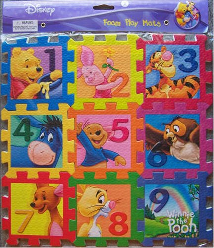 Cheap Greenbrier International Foam Play Mats Winnie the Pooh (Puzzle) (B000MMWKZ4)