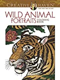 Creative Haven Wild Animal Portraits Coloring Book