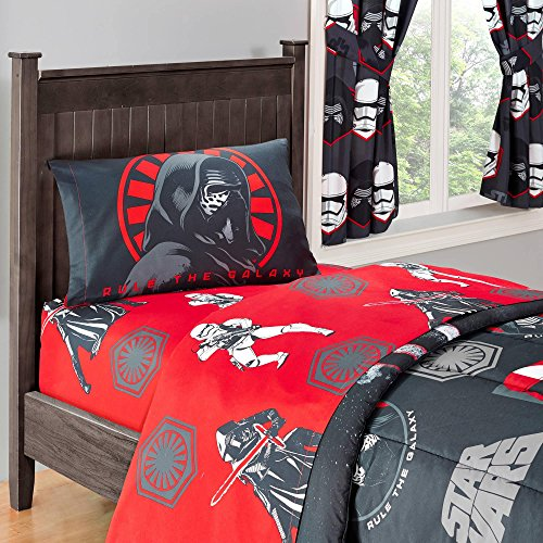 Buy Star Wars Twin Sheet Set - 3 Pieces; Flat Sheet, Fitted Sheet, Pillowcase