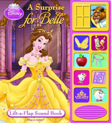 Disney Princess Lift-A-Flap Sound Book: A Surprise For Belle