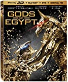 Gods Of Egypt [Bluray 3D + Bluray + DVD + Digital HD] [Blu-ray]