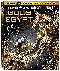 Gods Of Egypt [Bluray 3D + Bluray + DVD + Digital HD] [Blu-ray]