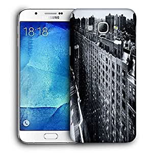 Snoogg Manhattan New York City Printed Protective Phone Back Case Cover For Samsung Galaxy Note 5