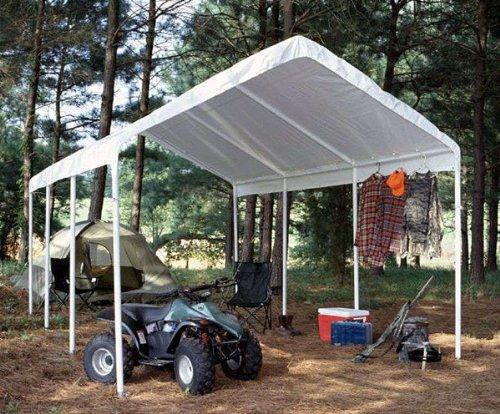 Lifetime Sheds King Canopy Hc1020pcsl 10 Feet By 20 Feet