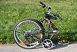 Columba 26 Folding Bike w. Shimano 18 Speed Black(SP26S_BLK)