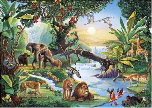 Rain Forest puzzle Clementoni
