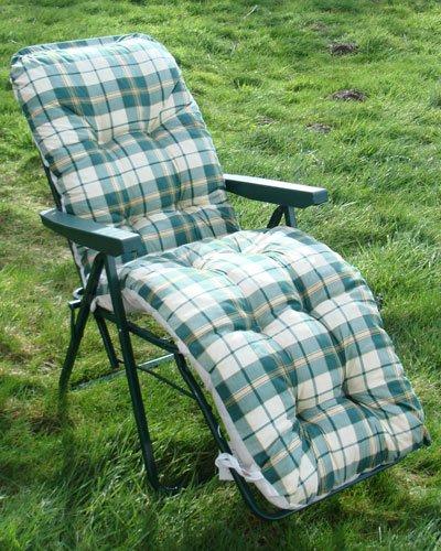 Padded polyester Relaxer / Sun Lounger