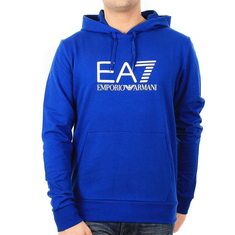 майка женская для фитнеса ventus7 w tank ea7 emporio armani EA7 by Emporio Armani Men's Hooded Sweatshirt 2743774P231