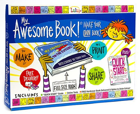 My Awesome Book - Write and Illustrate Your Own Hardcover Book