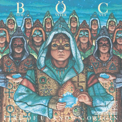 Original album cover of Fire Of Unknown Origin by Blue Oyster Cult