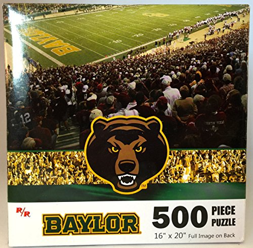 "NCAA Baylor University Bears 16""x20"" 500 Piece Puzzle"