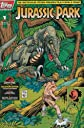 Jurassic Park #1 (1st printing, $2.95 cover price. Black Collectors Edition box) with Trading Cards