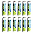 PowerDriver 350mAh AAA Rechargeable NiCD Battery (12 Piece)
