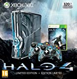 echange, troc Console Xbox 360 320 Go + 2 Manettes + micro-casque + Halo 4 - bundle édition limitée