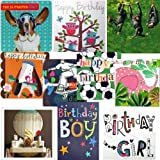 Greeting cards collection. Party Time 1 - 10 Children's Birthday cards. All new designsby Cardmix,...