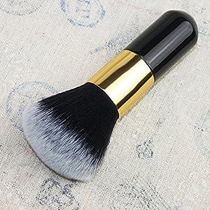DE'LANCI Portable Cosmetic Foundation Powder Blush Big Handle Makeup Brushes Tool (Big Blush Brush) ... by DE'LANCI