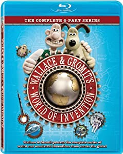 NEW Wallace & Gromit - World Of Invention (Blu-ray)