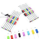 RETON Rewritable Magnetic Dry Wipe White Board Markers Pens with Eraser Cap (32 Pcs, 8 Colors) (Tamaño: 32 Pcs, 8 Colors)